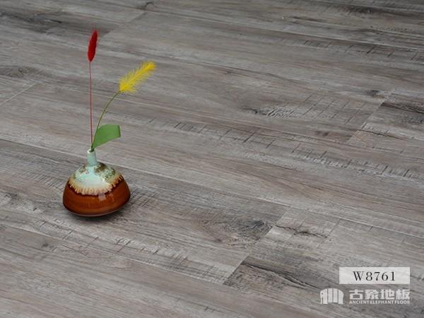 古象强化地板·刀砍核桃木W8761