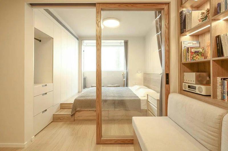 超强收纳空间的卧室