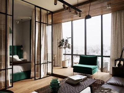 单身公寓铺装古象实木地板是一种什么体验
