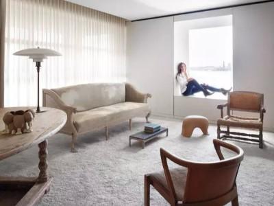 白墙+木地板就很美