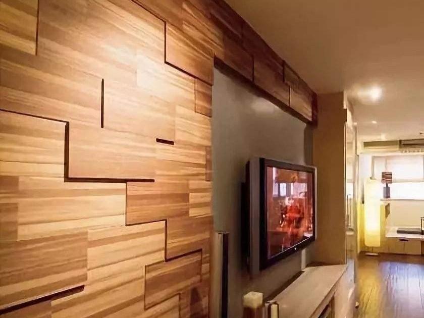 潮流装饰·木地板上墙能有多美