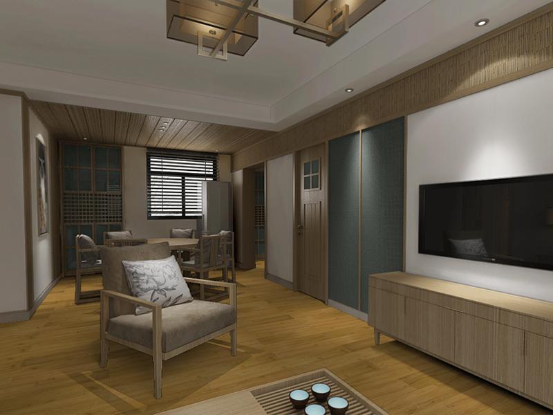 长沙旭辉国际使用古象办公场地专用地板