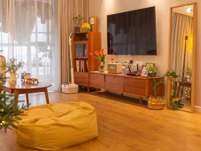 古象实木地板打造的日式风小家