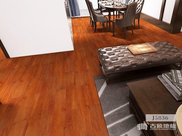 古象强化地板·泰国金柚J5836