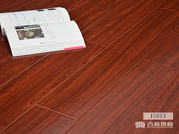 古象强化地板·南美红檀香J5812