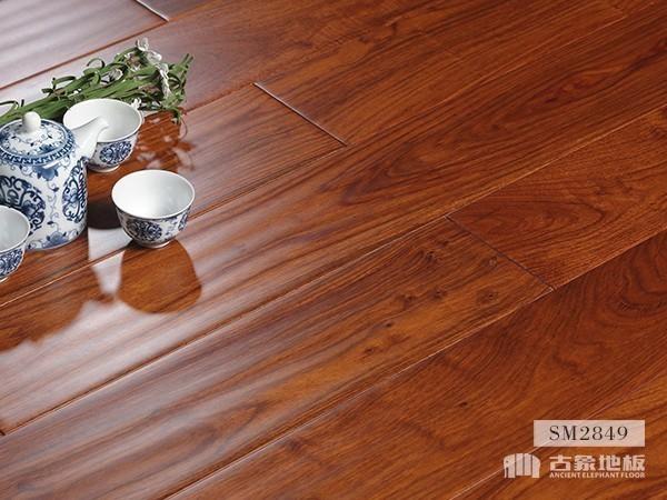 实木地板·亚花梨仿古(皇家印象)-SM2849