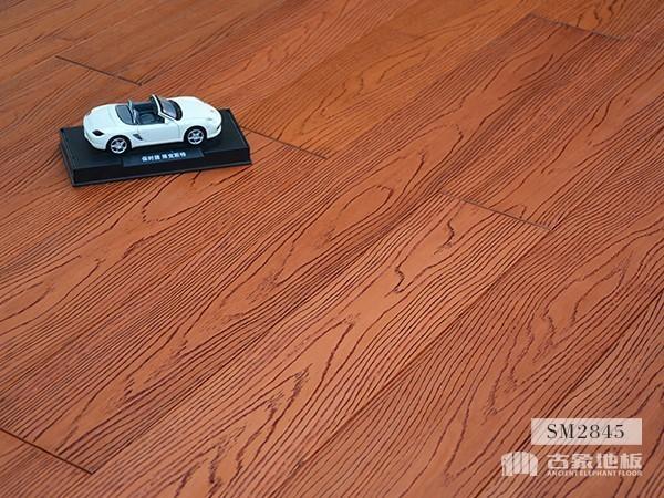 实木地板·番龙眼仿古压花(橡木本色)-SM2845