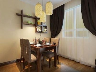 追寻传统美学,木地板打造的新中式小家