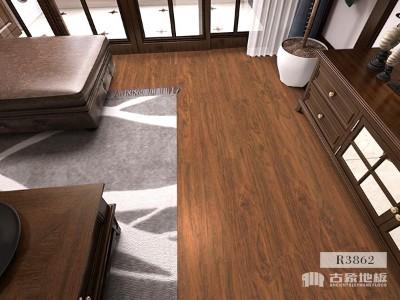 木纹砖PK强化地板