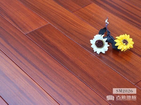 实木地板·圆盘豆(本色)-SM2826