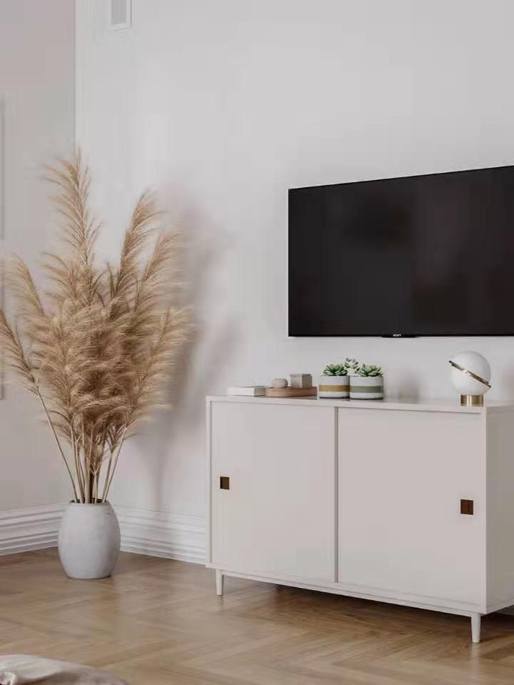简单的电视背景墙