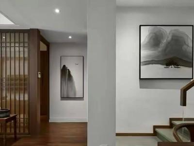 新中式+木地板