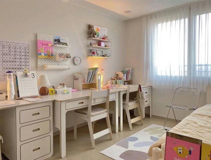儿童房铺装木地板