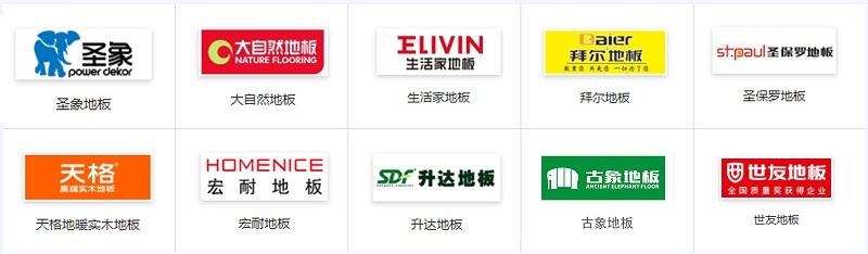 2016年中国木地板十大品牌排行榜