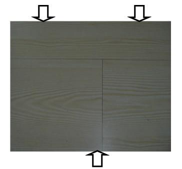 安装质量所引起的三角缝