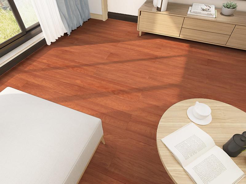长沙美林公寓在古象地板定下了两款零醛系列的木地板