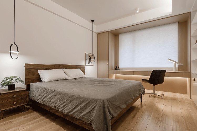 很人性化设计的卧室