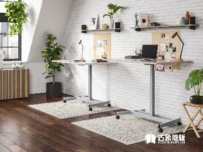 地采暖用多层实木地板如何进行铺装