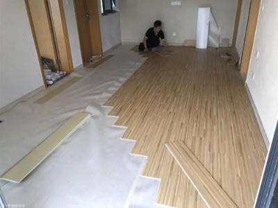 安装木地板之前的地面找平